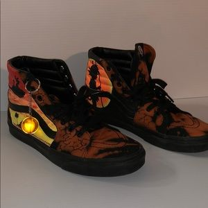 dragon ball z vans shoes for sale